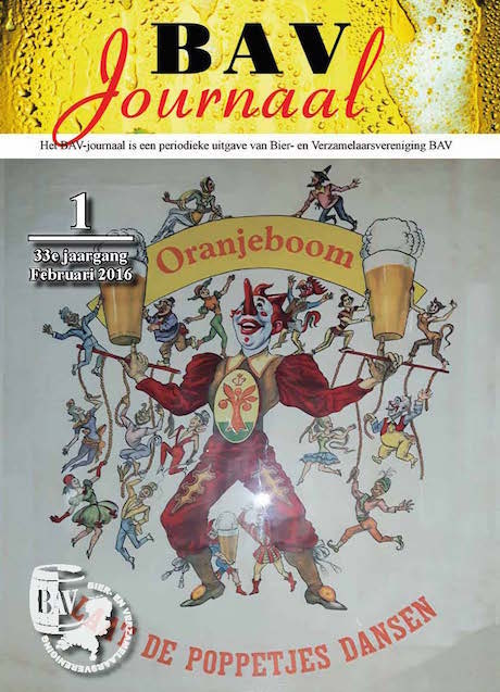 BAV Journaal februari 2016